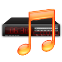 Wecker app for soft waking to iTunes Music, including dashboard widget